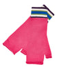 Fuchsia Pink Extrafine Merino Fingerless Gloves