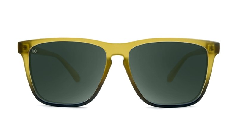 FROSTED AMBER FADE AVIATOR GREEN - Knockaround Colombia
