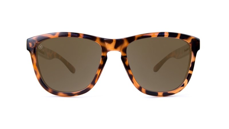 ANIMAL PRINT GLOSSY TORTOISE SHELL AMBER - Knockaround Colombia