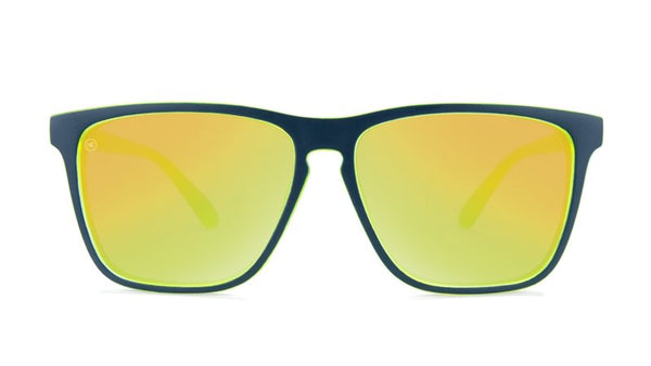 MATTE NAVY AND NEON YELLOW GEODE - Knockaround Colombia