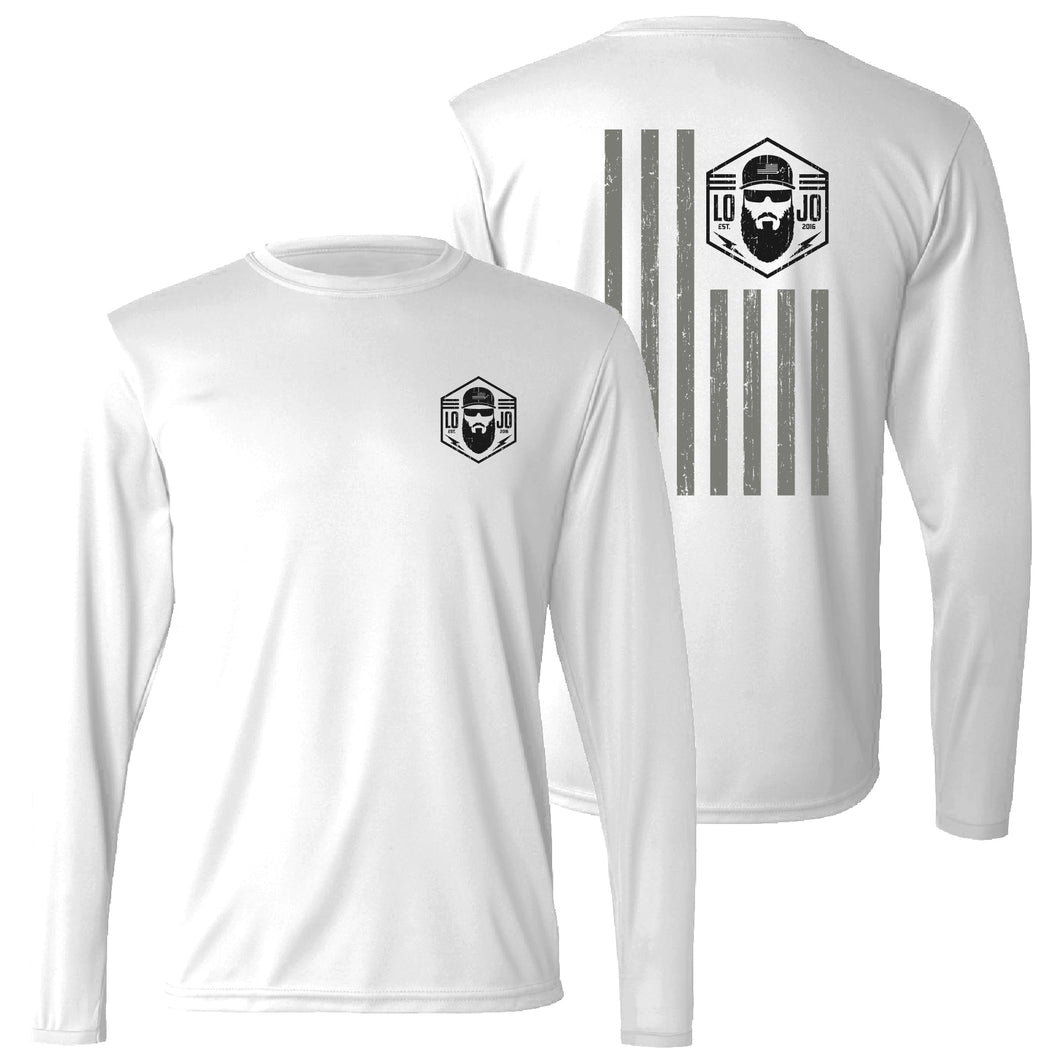 American LOJO Performance Long Sleeve Shirt