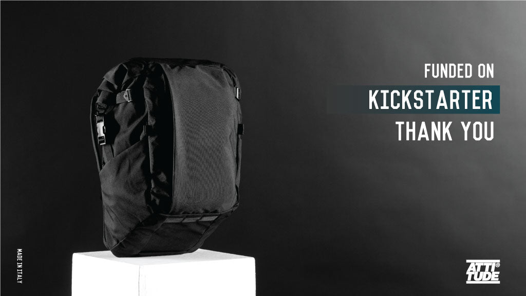 ATD1 Backpack is successfully funded on Kickstarter!