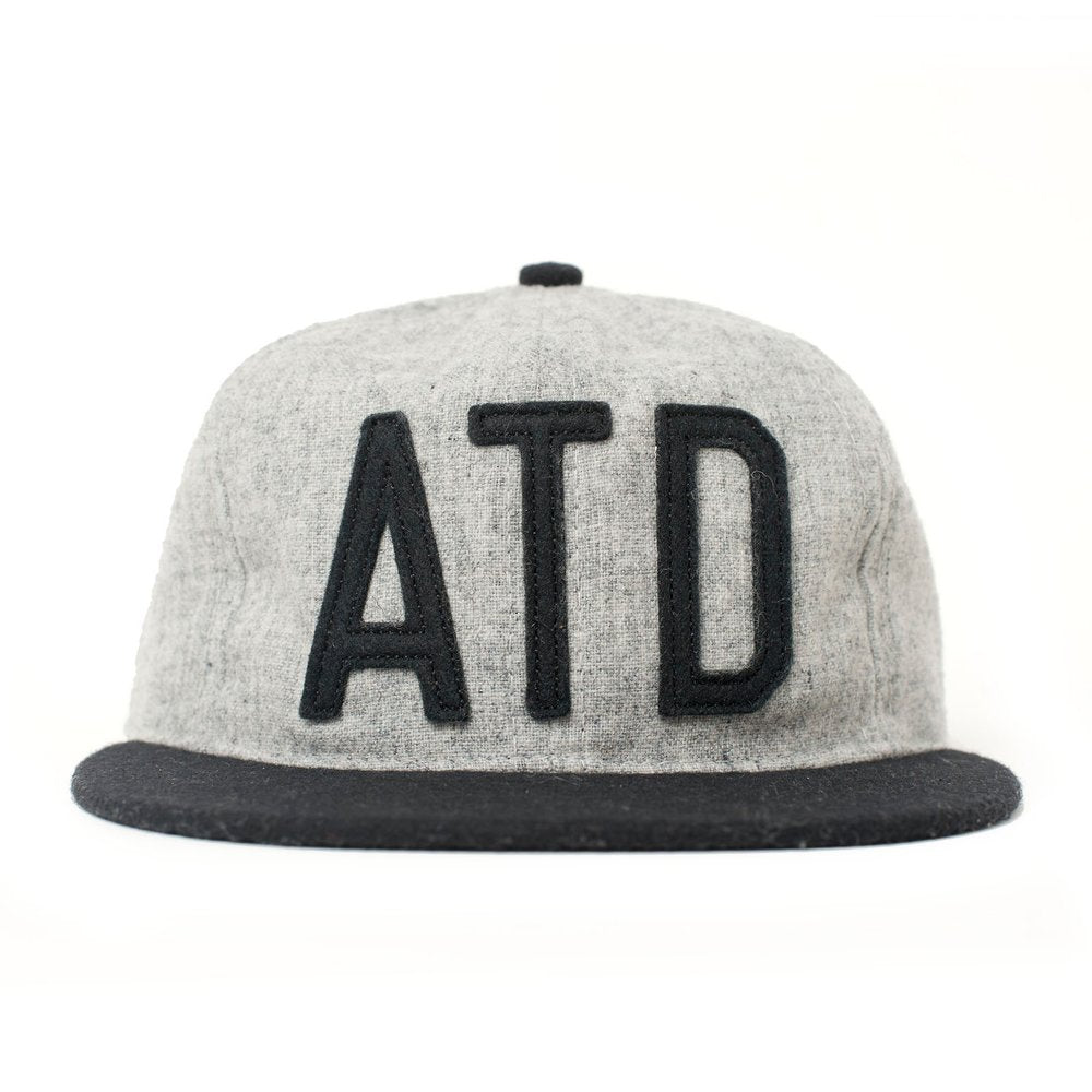 ATD Supply X Ebbets Field Flannel - Wool Snapback Cap - Attitudesupply