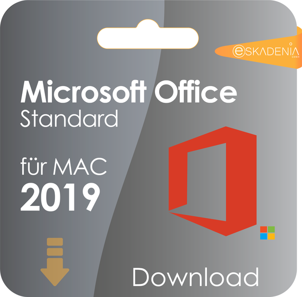Microsoft Office Mac 2019 Standard