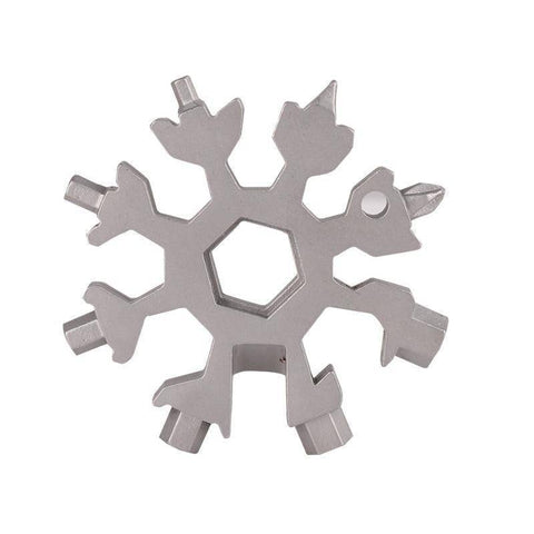 Image of Outdoor Tools - 18-IN-1 STAINLESS STEEL SNOWFLAKES MULTI-TOOL