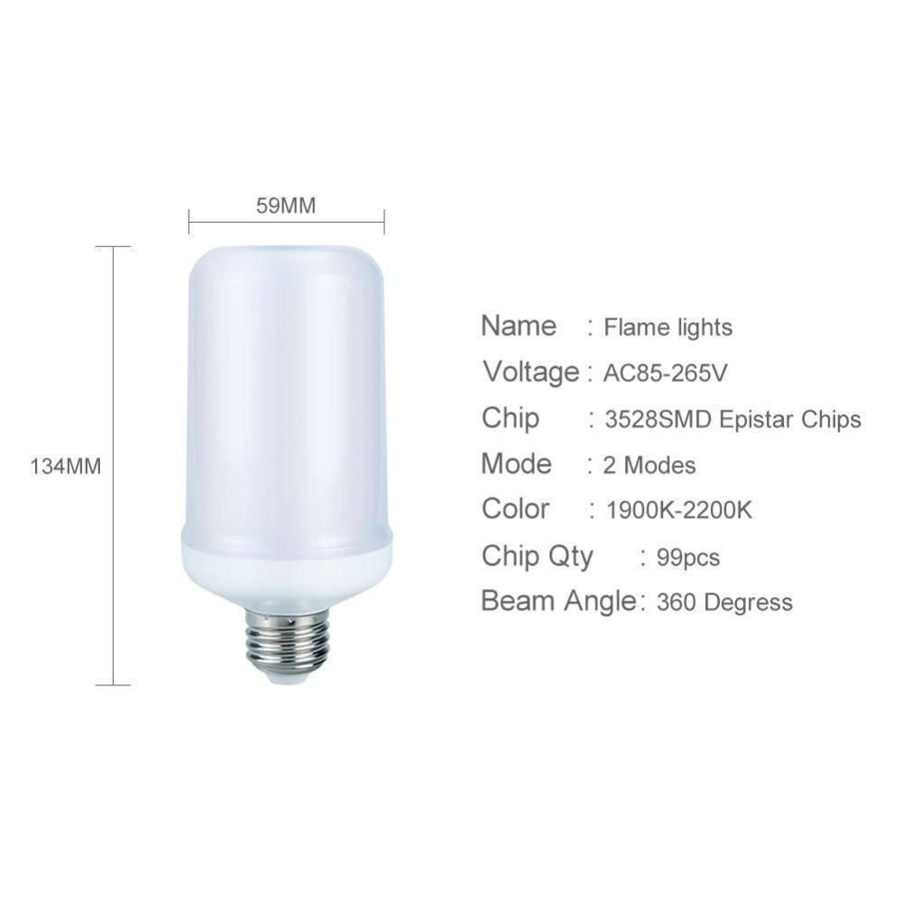 LED Bulbs & Tubes - Flame Effect LED Bulb