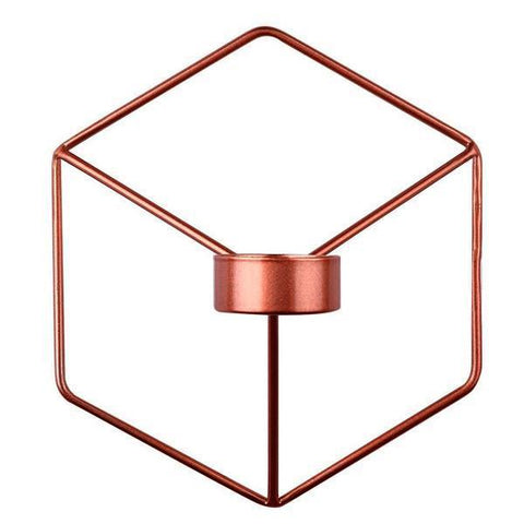 Image of Holder - 3D Geometric Wall Candle Holder (Various Colors)