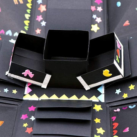 Image of Gift Bags & Wrapping Supplies - DIY Explosion GIft Box