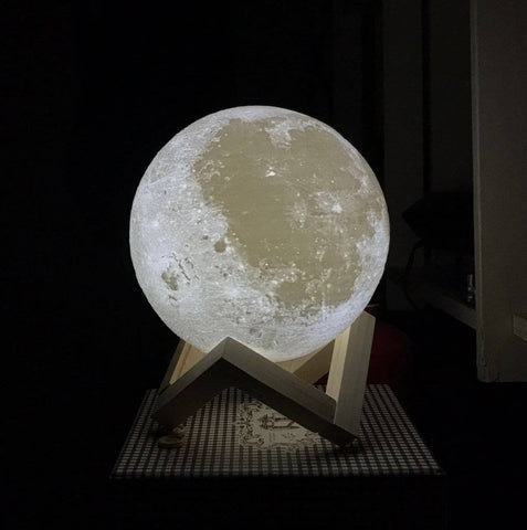 LED Night Lights - Mystical Moon Lamp
