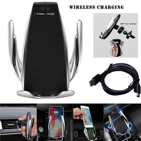 Image of Car Automatic Wireless Charger