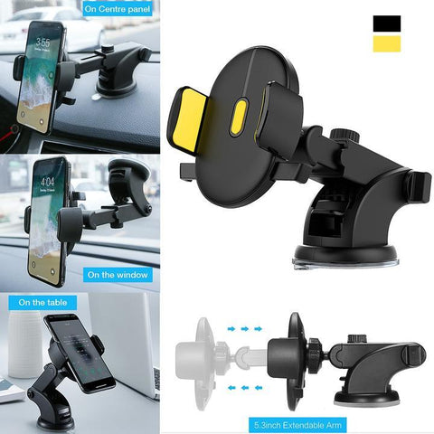 Image of Automatically Locking Windshield Phone Holder [UNIVERSAL FIT]