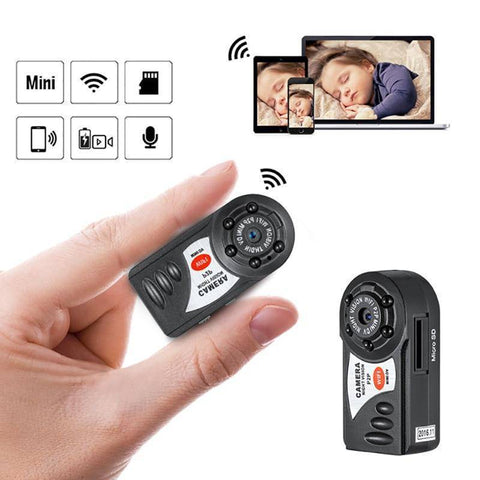 Image of Surveillance Cameras - TrendyDiscount MINI WIFI DVR WIRELESS IP CAMERA
