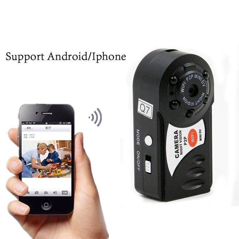 Surveillance Cameras - TrendyDiscount MINI WIFI DVR WIRELESS IP CAMERA