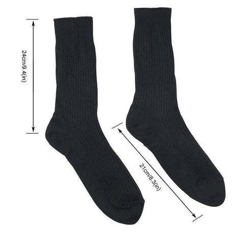 Image of Skiing Socks - Thermal Heated Cotton Socks (1 Pair)