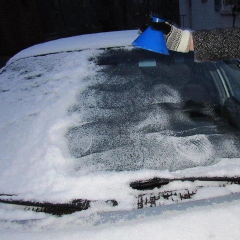 Image of (Limited time 80% off )- 2 IN 1 Magical Car Ice Scraper & Funnel