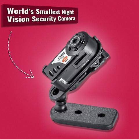 Mini Camcorders - Worlds Smallest Night Vision Camera
