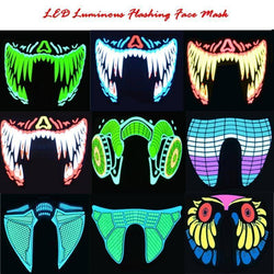 Party Masks - LumiVox™ LED Mask