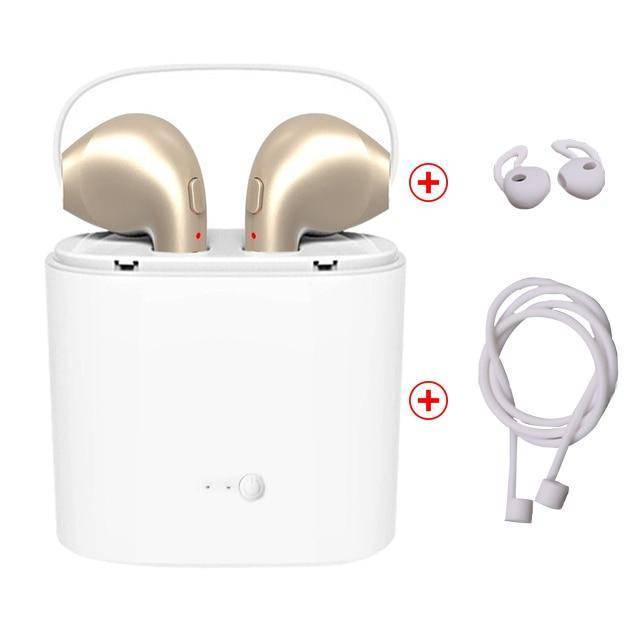 Bluetooth Earphones & Headphones - Bluetooth Wireless Earphone Headset With Charger Box