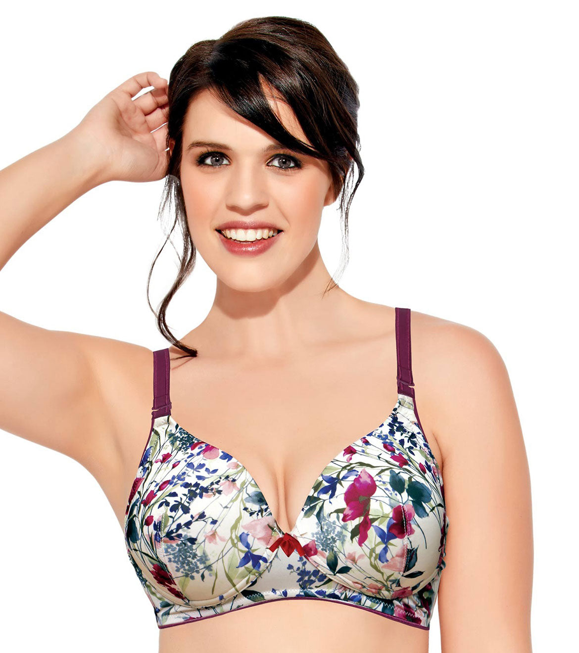Enamor F065 Full Support T-Shirt Bra - Padded • Wirefree • Detachable Strap