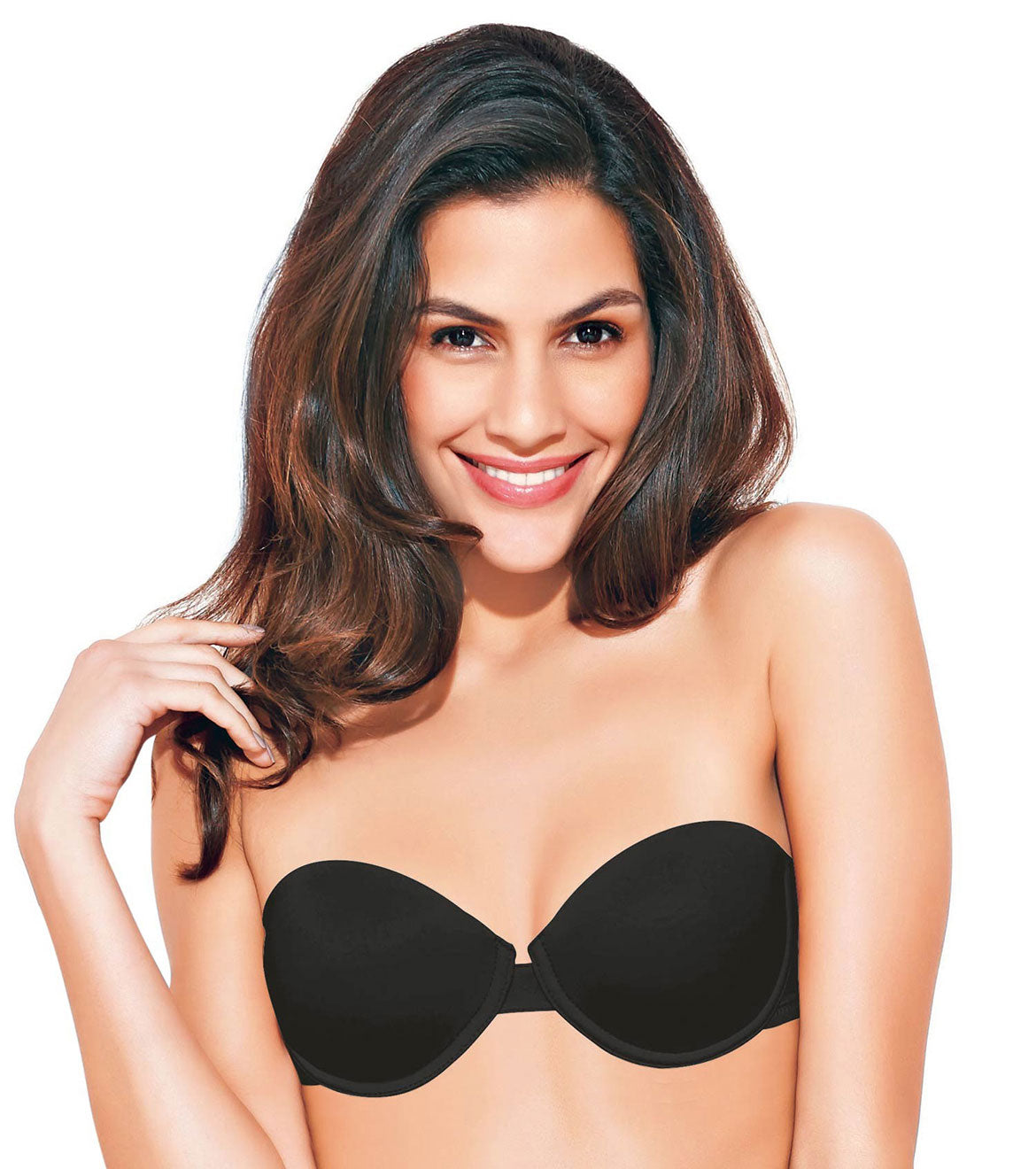 7966d66b3243c Enamor F055 Strapless T-Shirt Bra - Padded • Wired • Detachable Strap ...