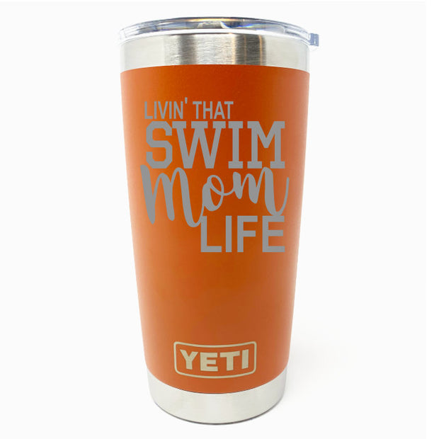 Swim Mom Living YETI 20 oz