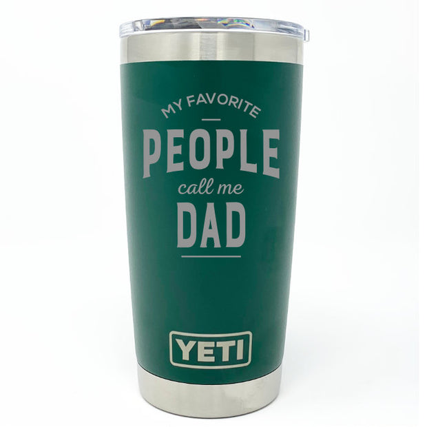 Favorite People Dad YETI 20 oz