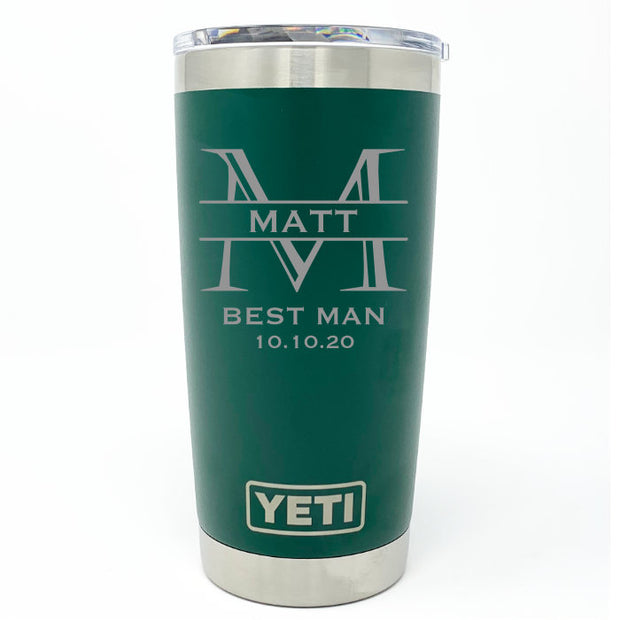 Best Man Tumbler YETI 20 oz