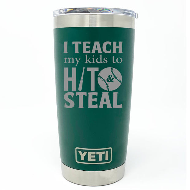 Baseball/Softball Coach YETI 20 oz