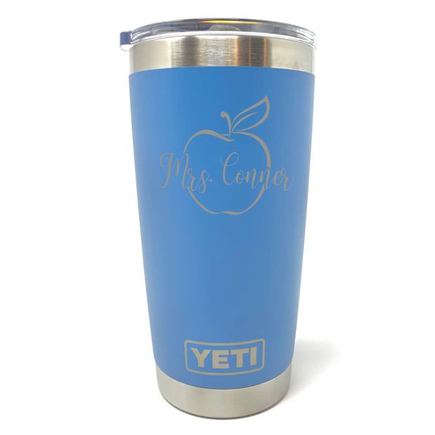 Teacher Apple YETI 20 oz