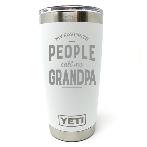 Favorite People Grandpa YETI 20 oz