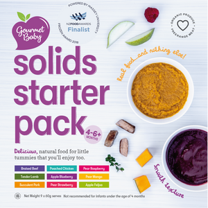 Solids Starter Pack - Large - Now with Steamed Vegetable