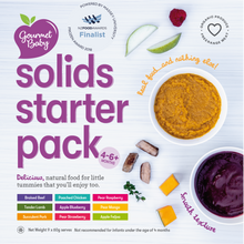Solids Starter Pack - Extra Large - Now with Steamed Vegetable