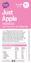 Just Apple Fruitblocks x 4 pack - NEW!