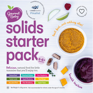 Solids Starter Pack - Mega - Now with Steamed Vegetable