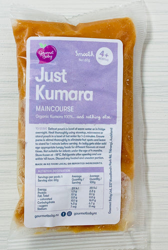 Just Kumara Maincourse x 4 pack
