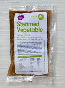 Steamed Vegetable Maincourse x 4 Pack - Available in mixed packs