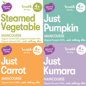 Just Organic Vegetables Mixed x 20 Pack
