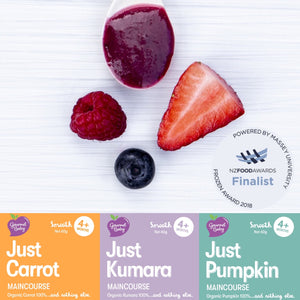 Just 100% Organic Fruit & Vegetable x 24 Pack