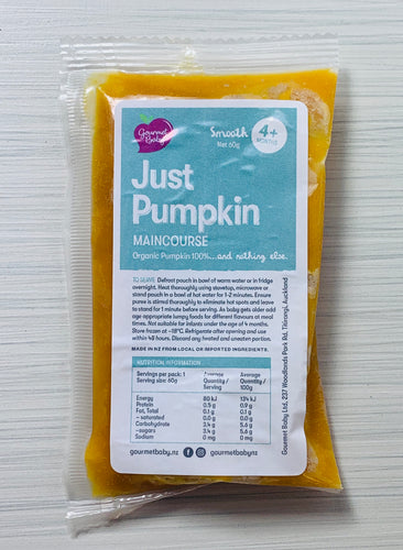 Just Pumpkin Maincourse x 4 Pack - NEW!