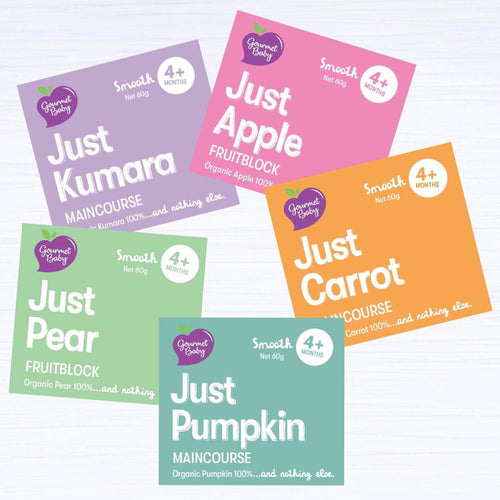 Just Starting Solids Mixed x 10 Pack - NEW!
