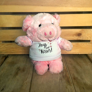 "Loveless Cafe ""Hogs and Kisses"" plush Pig"