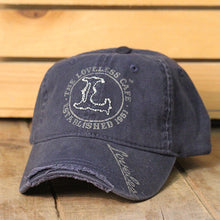 "Load image into Gallery viewer, Loveless Cafe ""L"" Logo Baseball Hat"
