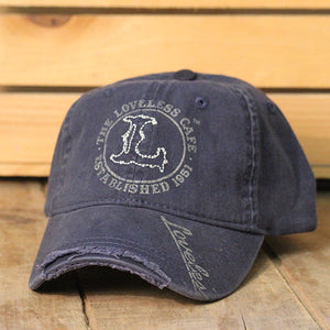 "Loveless Cafe ""L"" Logo Baseball Hat"