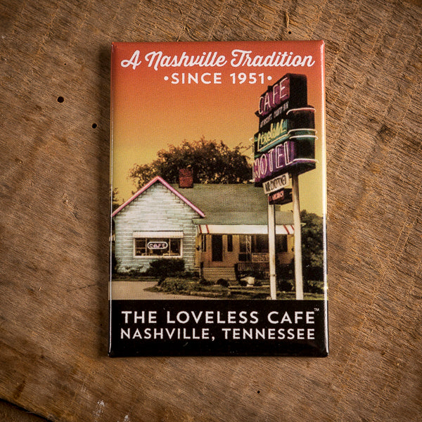 Loveless Cafe Sunset Fridge Magnet