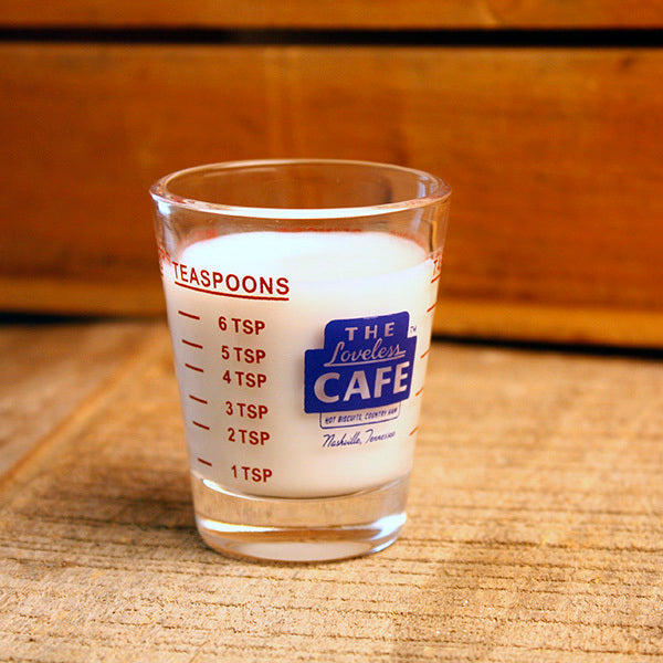Loveless Cafe Measuring Shot Glass