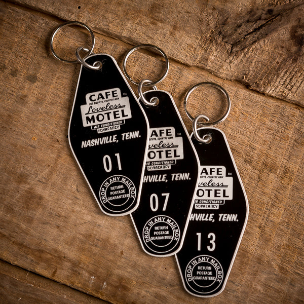 Loveless Cafe Motel Key Fob