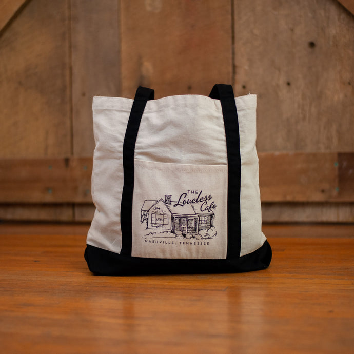 Cafe Illustration Tote