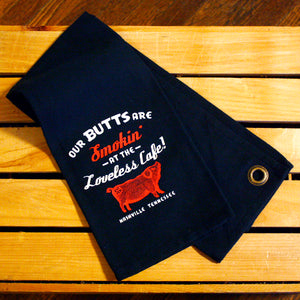 "Loveless Cafe ""Smokin Butts"" Towel"