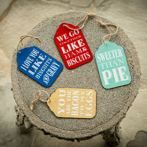 Loveless Cafe Sweet Sentiment Ornament
