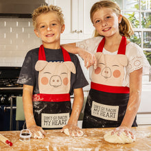 Load image into Gallery viewer, Children's Size Pig Apron